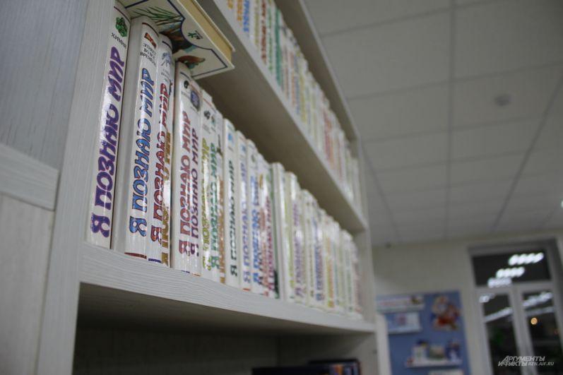 Фонды библиотеки содержат книги совершенно разных жанров и направлений.