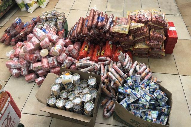 На городском рынке таможенники изъяли 740 кг «санкционки»