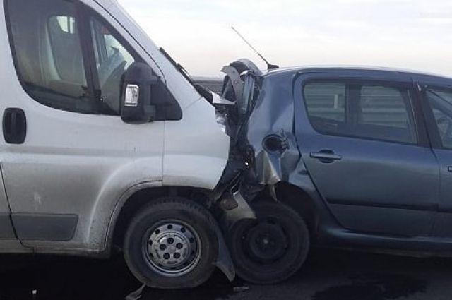 В ДТП на Южном обходе пострадал один человек