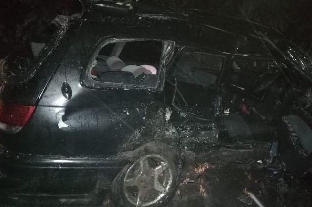 В Удмуртии в ДТП погиб водитель Toyota