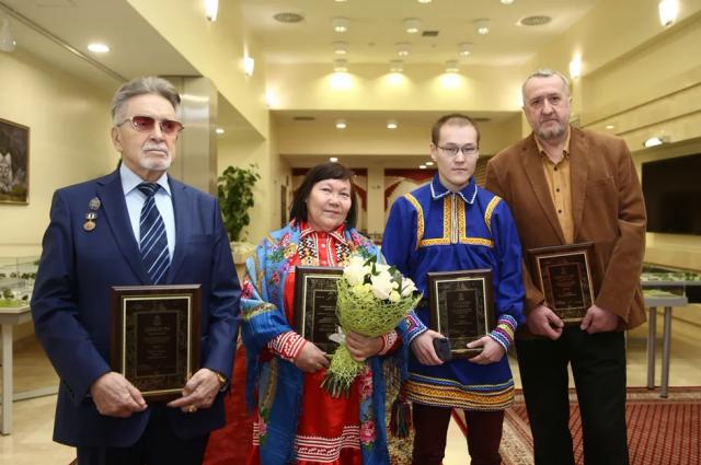 В ЯНАО вручили награды лауреатов литературной премии губернатора