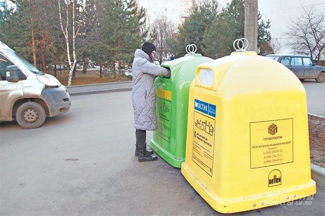 Жители Ново-Переделкина уже сейчас готовы выносить мусор в раздельные контейнеры.