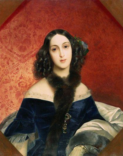«Портрет М. А. Бек» (1840).