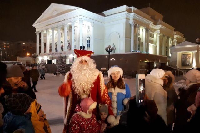Жители Казанского района выбрали Снегурочку 2020 года