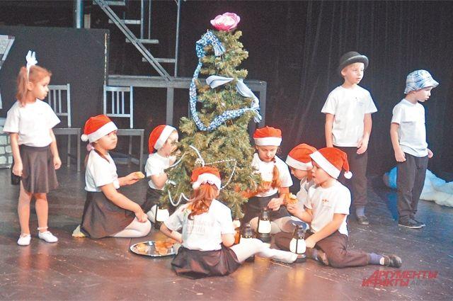 «Ёлка»– трогательная история отом, как встречают Рождество всказке.