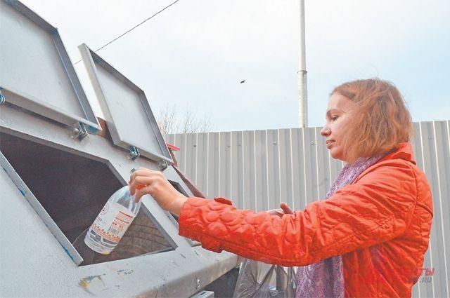 Район готовится к переходу на раздельный сбор мусора.