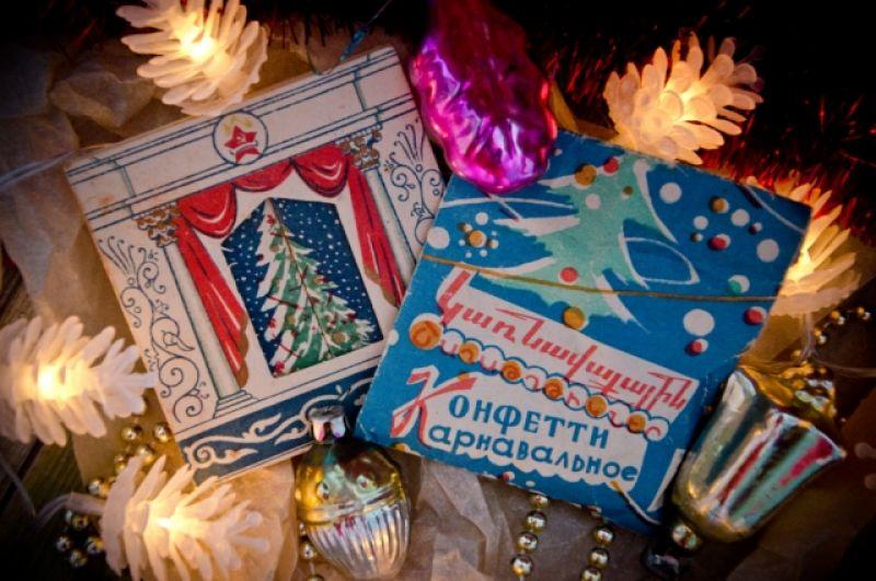 Наборы конфетти продавались в таких упаковках.