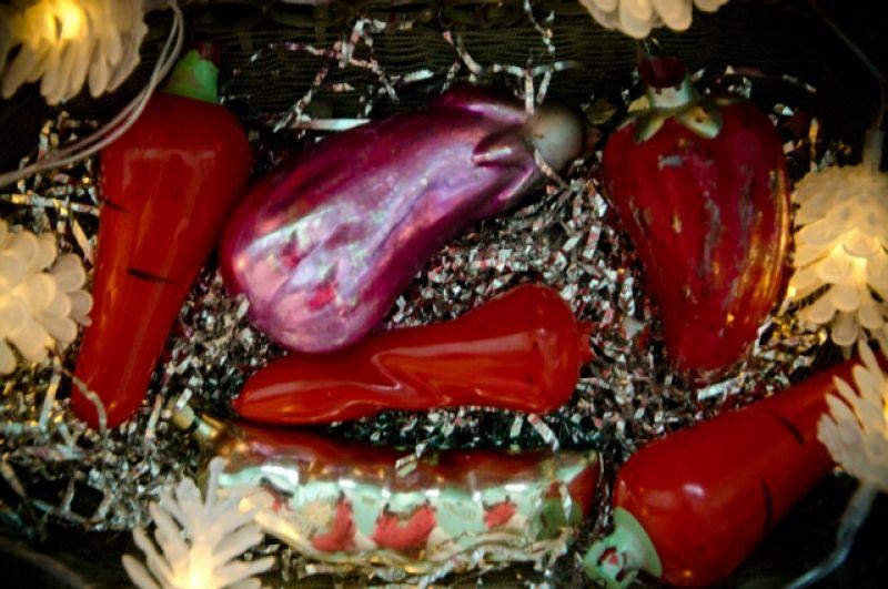 Коллекция овощей была выпущена к одной из сельскохозяйственных ярмарок.