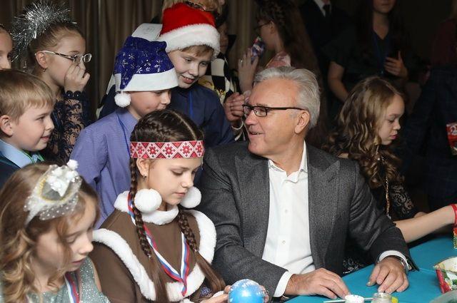 Ребятишки Красноярского края рассказали губернатору о своих успехах за год