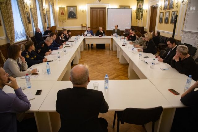 Заседание Общественного совета при Красноярской митрополии.