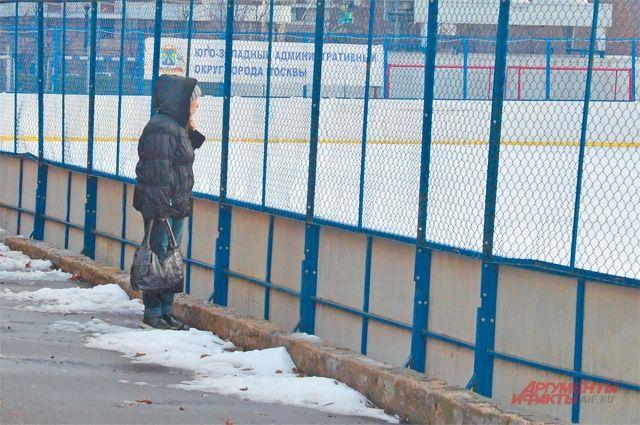 Коньки уже готовы, авот лёд ещё нет– никак не похолодает.