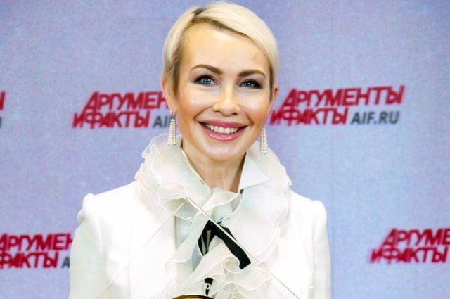 Первый заместитель генерального директора издательского дома «Аргументы и факты» Марина Мишункина.