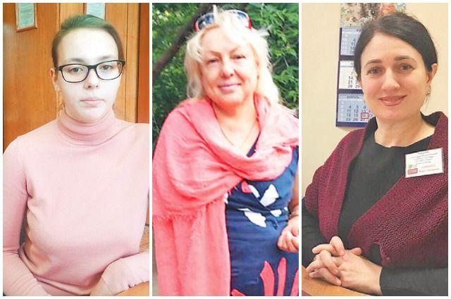Даша Соловьёва, Татьяна Зенькович и Венера Коровина.