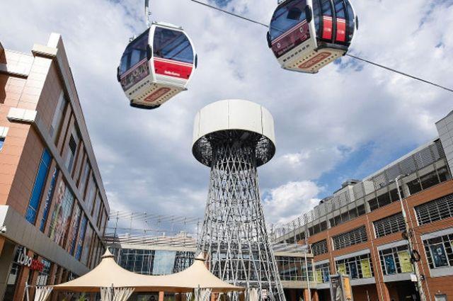 На проект канатного метро в Краснодаре выделили 400 тысяч долларов.