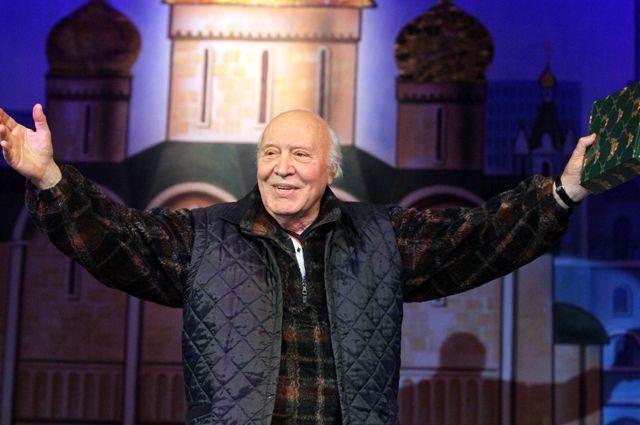Диктор Центрального телевидения СССР, народный артист СССР Виктор Балашов. 2010 год.