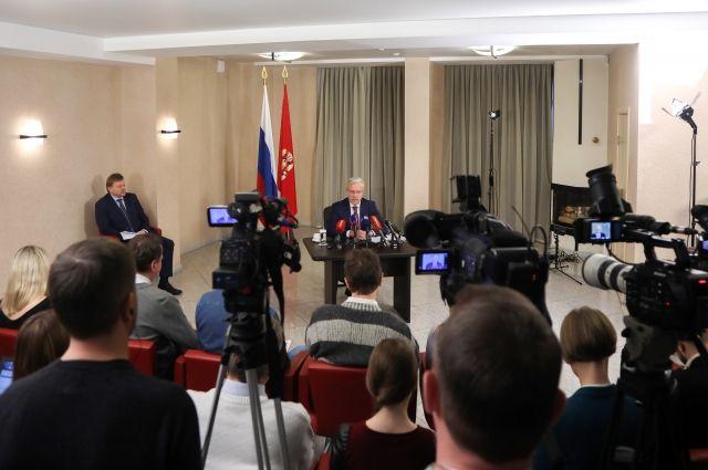Губернатор Александр Усс мечтает прокатиться на красноярском метро