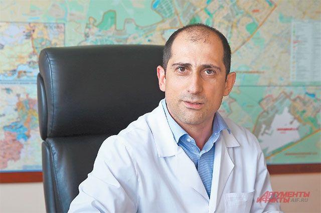 Сергей Сафарян открыт для общения с пациентами.