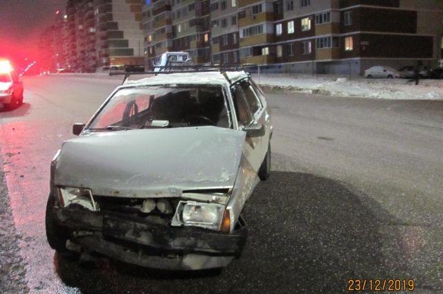 В Ижевске в ДТП пострадала 16-летняя девушка