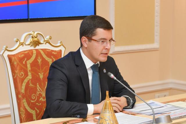 Глава ЯНАО Дмитрий Артюхов года провел Совет глав