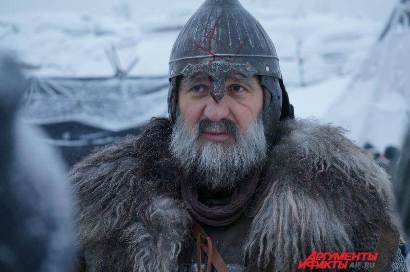 Сергей Пускепалис играет в фильме Полюда.