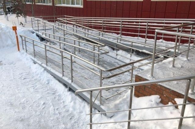 Несколько школ в Ноябрьске полностью адаптировали для инвалидов