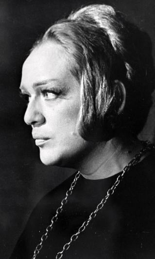 Галина Волчек в роли Реганы в художественном фильме «Король Лир», 1970 год.