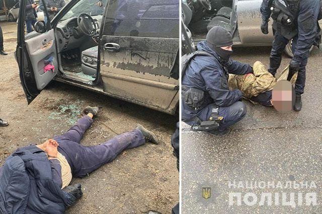 В Днепре задержали «киллеров» с гранатометом