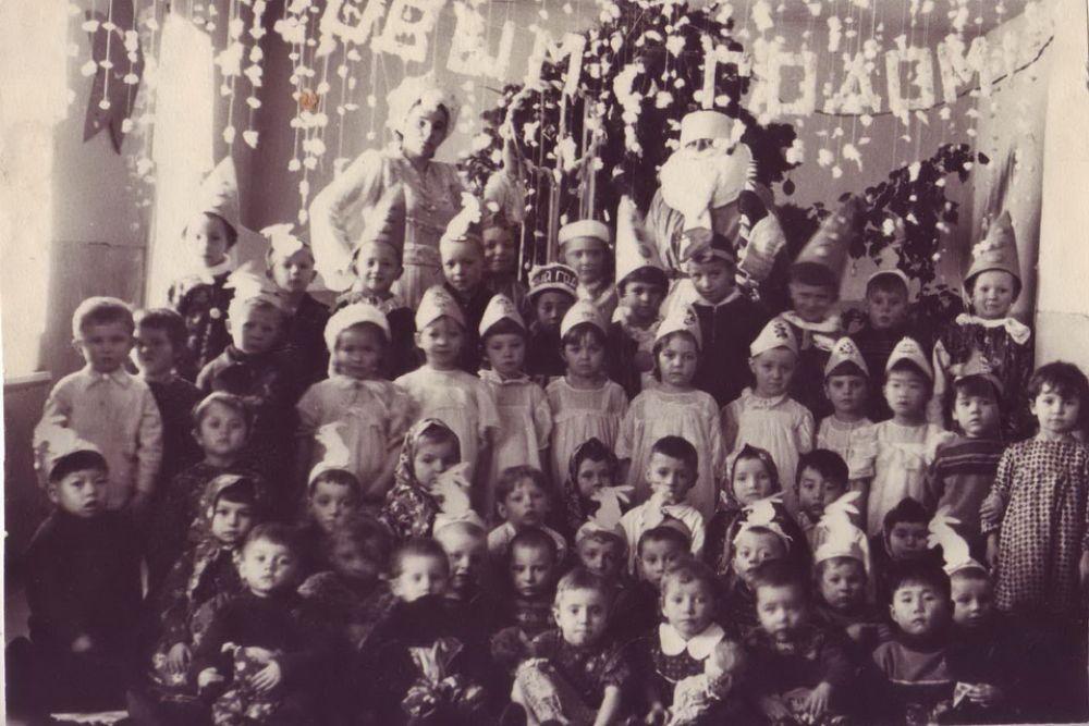Новогодний утренник в детском саду, 1957 г.