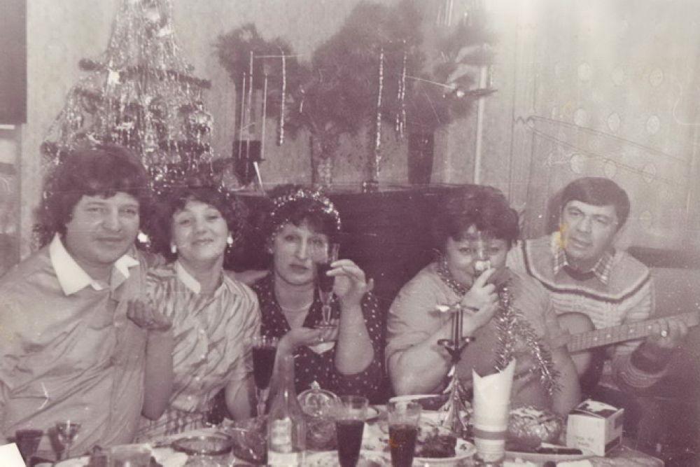 Новогодний корпоратив, 1976 г.