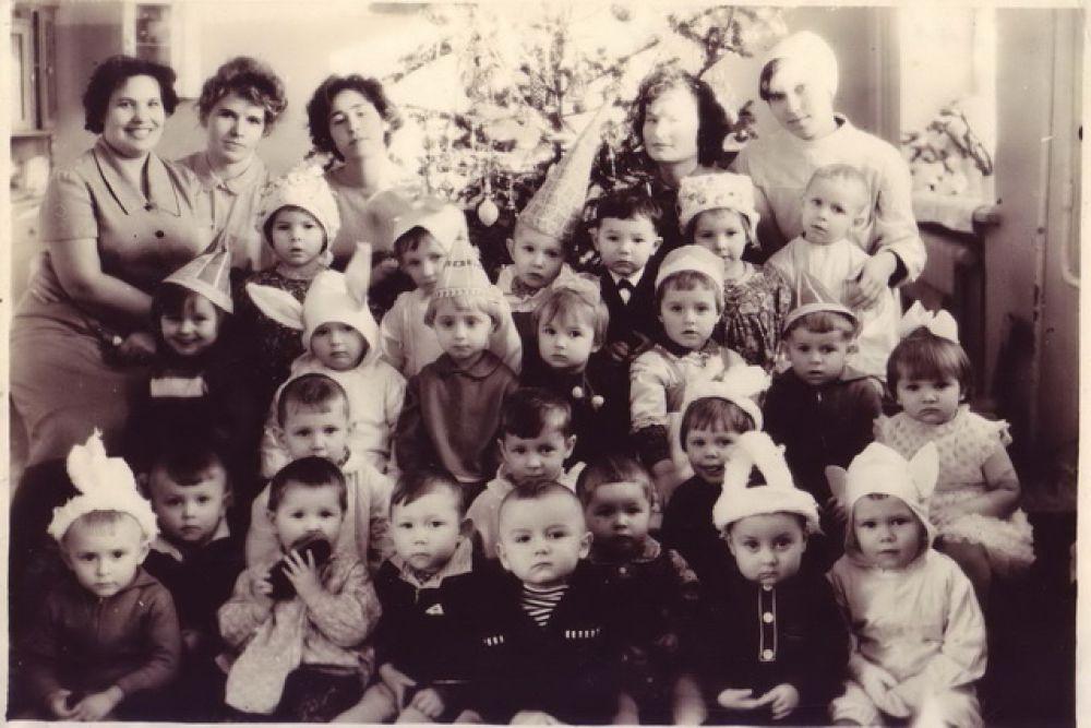 Утренник в детском саду, 1965 г.