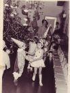 Новогодний утренник в детском саду, 1955 г.