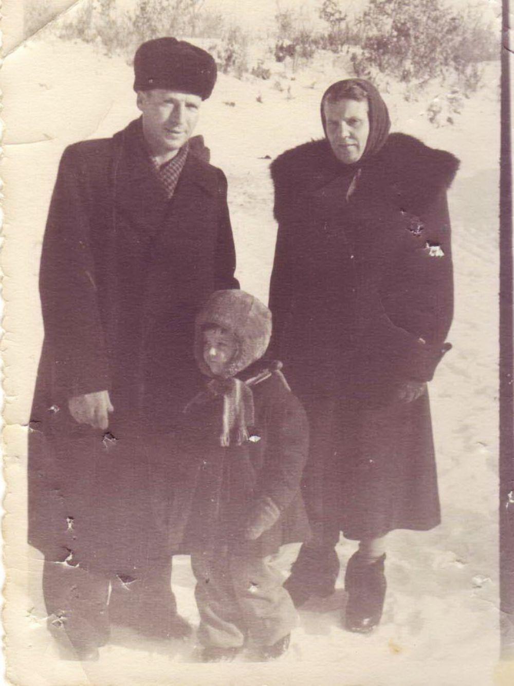 Предновогодний Петропавловск, 1940 г.