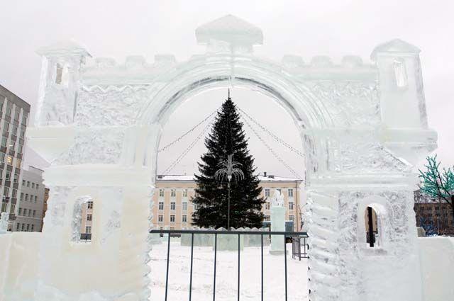 Рождественская ярмарка на Стефановской площади будет работать по 15 февраля.