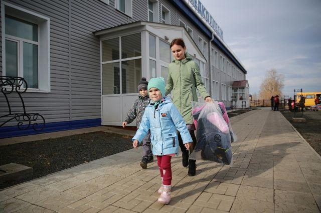 За счёт благотворительных средств ИНК маленьким тулунчанам приобрели новую одежду.