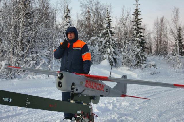 В ГКУ «Ямалспас» поступили беспилотные летательные аппараты