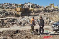 В Оренбуржье ликвидируют незаконную свалку 20-летней давности.