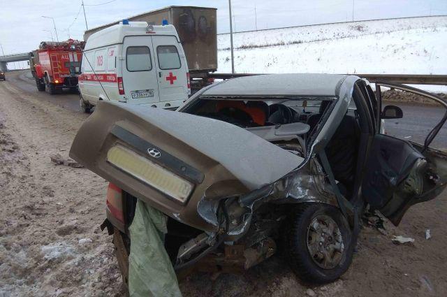 Пять человек пострадали в ДТП на трассе в Удмуртии
