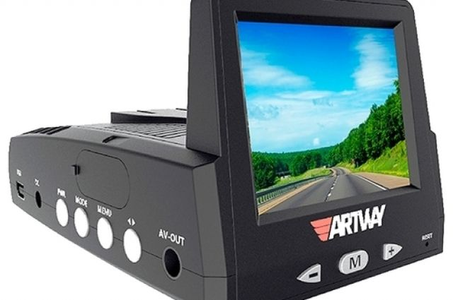 Artway MD-102 Combo 3 в 1, GPS