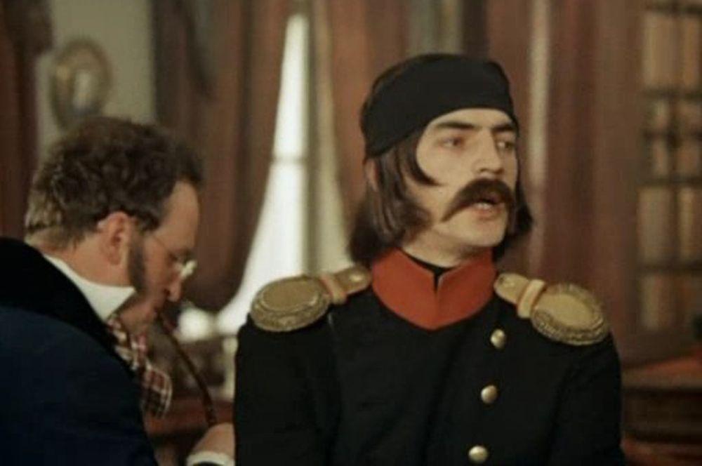 «Звезда пленительного счастья» (1975) — декабрист Якубович.