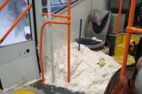 История появления снега в транспорте пока неизвестна, но новосибирцы уже выдвинули несколько интересных версий.