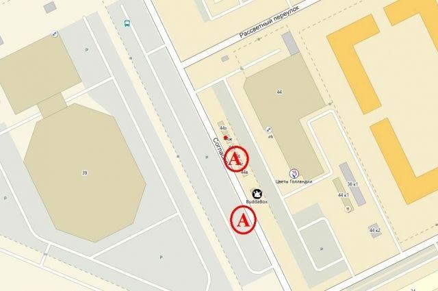 У дворца спорта «Янтарный» появились новые остановки автобусов
