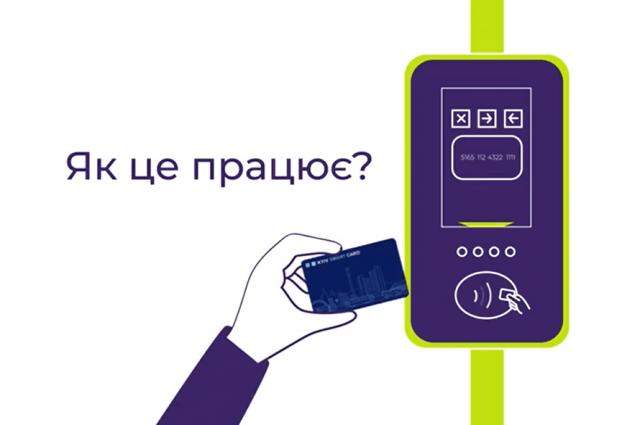 В Киеве сняли видеоинструкцию к электронному билету Kyiv Smart Card