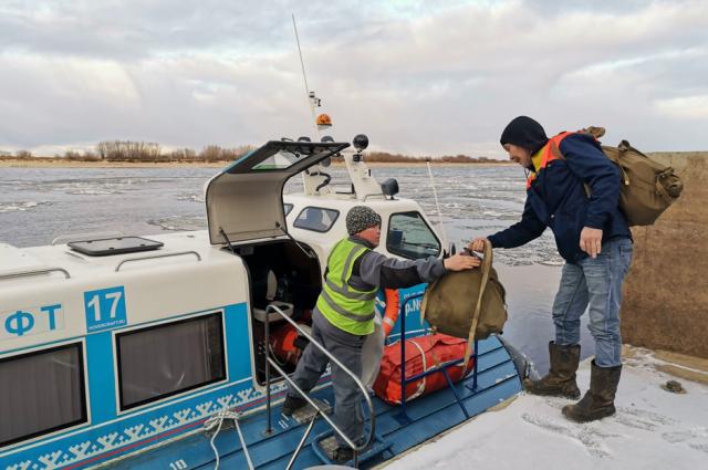 В ЯНАО увеличился пассажиропоток на водном транспорте