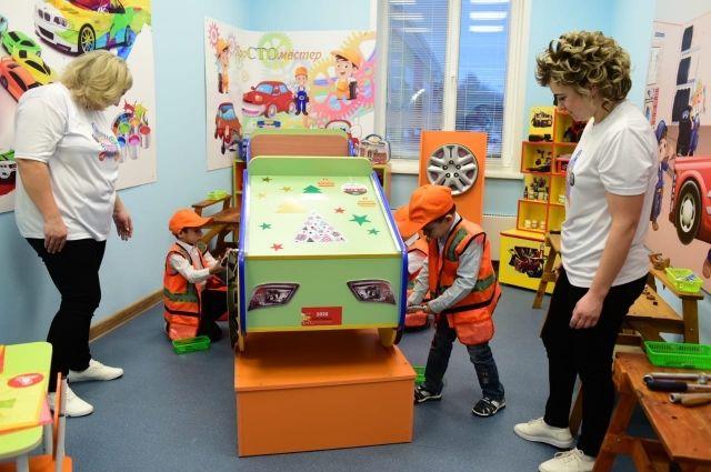 Благодаря открытию детского сада в городе появились 60 новых рабочих мест.
