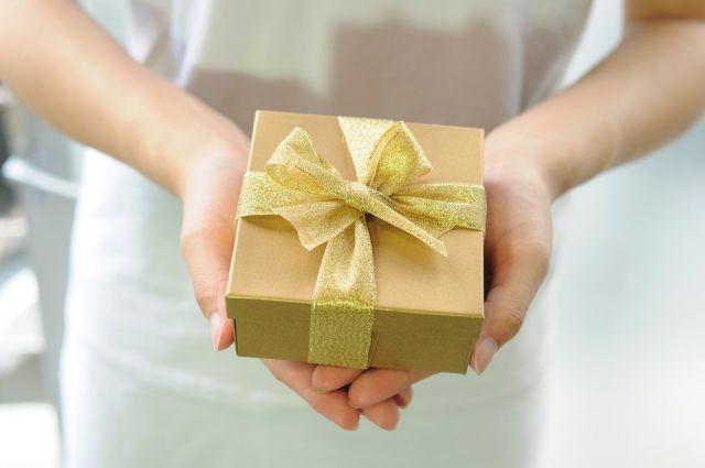 Подарок не обязательно должен быть материальным.