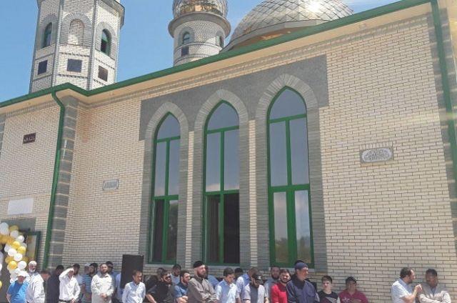 В селе Хазнидоне мечеть открыли в 2017 году