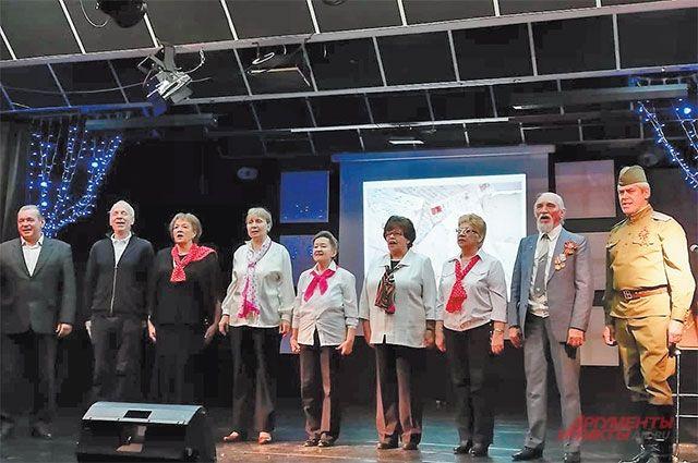Участники проекта «Московское долголетие» открыли акцию праздничным концертом.