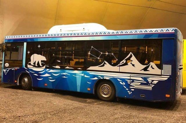 В Надыме приступили к монтажу оборудования для газомоторных автобусов