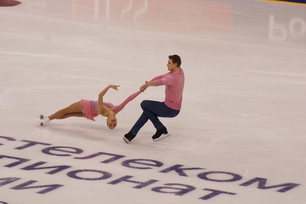 Бойков-Козловский тоже набрали высокие баллы и стали вторыми.
