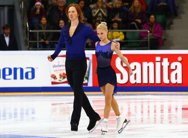 Спортивная пара Тарасова - Морозов стали первыми в короткой программе и побили мировой рекорд.